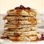 Cranberry Oatmeal Blender Pancakes