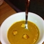 Curried Roasted Butternut Squash & Sweet Potato Soup