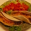 Double-shelled Beef and Bean Tacos
