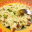 Farfalle with Grilled Chicken, Pancetta and Red Onion Sauce