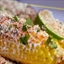 Fresh Corn with Queso, Cilantro and Chile (Mexican Street Corn)