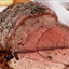 Garlic & Herb Crusted Slow Smoked Roast Beef