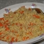 Garlic Orzo with Carrots and Marjoram
