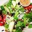 Granny Apple & Crumbled Bleu Cheese Salad Wrap