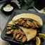 Gyros-Style Pork Sandwich