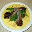 Lamb Cutlets with Polenta and Rocket