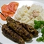 Lamb Kofta with chickpea rice