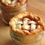 Lattice Top Peach Pie in a Jar