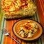 Layered Mexican Casserole Recipe with Chicken, Green Chiles, Pinto Beans, a