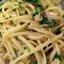 Linguini and white clam sauce