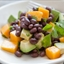 Mango, Avocado and Black Bean Salad with Lime Dressing