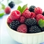 Mixed Berry Salad with Mint
