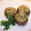 mushrooms stuffed with clams