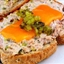 Open Face Tuna Sandwich