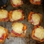 Pastrami Open Faced Minature sandwich appetizers