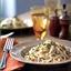 Pasta with creamy gorgonzola sauce