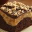 Peanut Butter Toffee Cheesecake Brownies