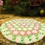 Peppermint Disk Serving Tray