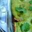 Pork Avocado Cream Enchiladas