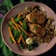 Pork Medallions with Rosemary and Mushrooms