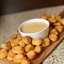 Pretzel Bites with Beer Cheddar Dipping Sauce
