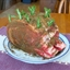 Prime Rib with Garlic and Rosemary