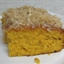 Pumpkin Cake with Coconut Topping
