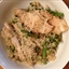 "Quinoa ""Risotto"" with Chicken, Asparagus & Peas"
