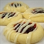 Raspberry Shortbread Thumbprints