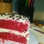 Red Velvet-Cheesecake Layer Cake