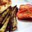 Roast Asparagus and Plum Tomatoes (1 Pt.)