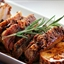 Roast Pork Loin with Bacon and Brown Sugar Glaze