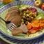 Roasted Caribbean Pork Tenderloin with Apple-Fennel Chutney