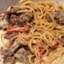 Roasted Red Pepper and Steak Alfredo