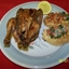 Rock Cornish Game Hens with Garlic Basil Bruschetta