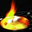 Saganaki (Greek Flaming Cheese) (Low Carb Version)