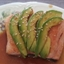Salmon and Avocado with Sesame Soy Dressing