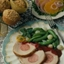Sausage-Stuffed Pork Roast with Apricot-Mustard Glaze