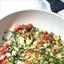 Savory Garlicky Quinoa Tabbouleh