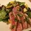 Seared Tuna Salad with Honey-lime Cilantro Dressing