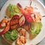 Shrimp and Andouille Brochettes