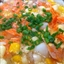 Soup- Sweet Corn + Salmon Chowder