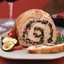 Spinach and Bacon Stuffed Pork Loin With White Wine & Rosemary Cream Sauce