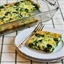 Spinach and Rice Egg Bake