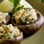 Stuffed Mushrooms with Artichoke & Fig (Vegetarian)