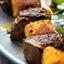 Teriyaki Steak and Pineapple Skewers