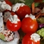 Tomatos Stuffed with Goat Cheese