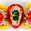 Tuna Salad in Bell Pepper Boats