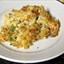 Turkey Pasta Casserole With Asparagus and Cheddar Cheese