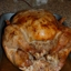 Turkey Stuffed with Apple Pecan Dressing